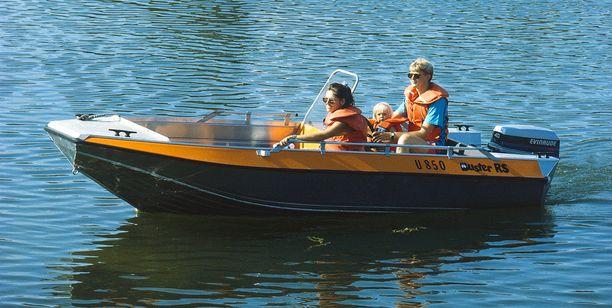 Buster-veneet ovat olleet suosituimpia alumiiniveneitä Suomessa, Ruotsissa ja Norjassa.