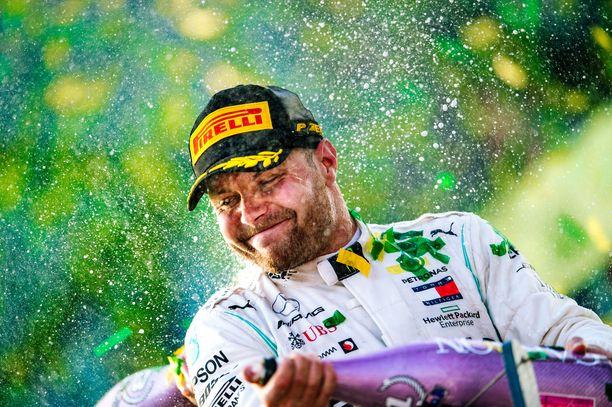 Valtteri Bottas esitteli Melbournessa uransa parasta F1-autoilua.