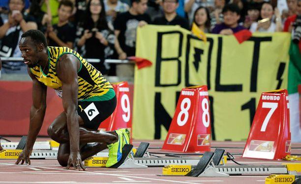 Vieläkö Usain Bolt on maailman nopein mies?