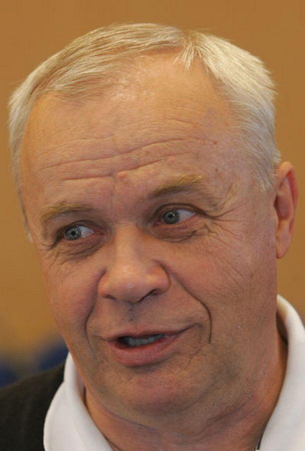 KOVA TAVOITE Jyrki Heliskosken mukaan Suomen EM-karsintavastustajat ovat voitettavissa.