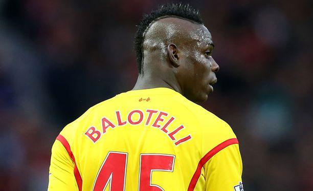 Brendan Rodgers ei ole saanut Mario Balotellista tehoja irti.