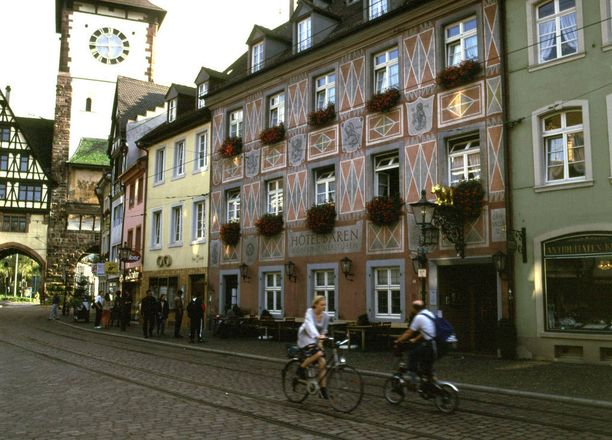 Saksan vanhin hotelli löytyy Freiburgista.