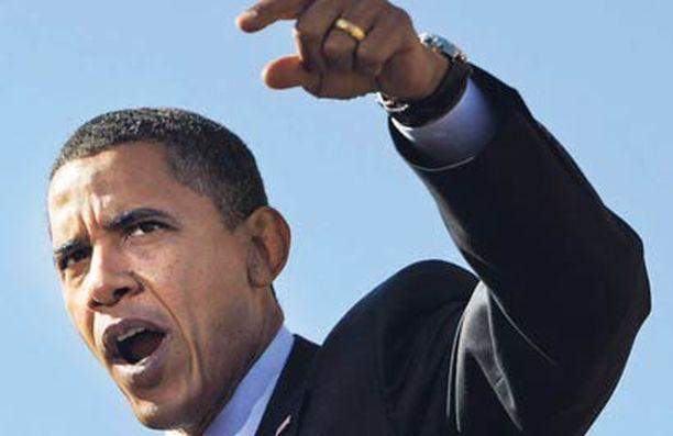 Barack Obaman etumatka on kaventunut selvästi.