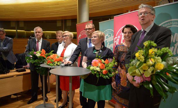 Keskusta esitteli hallituspuolueista viimeisenä ministerinsä.