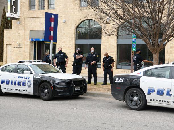 Yksi on kuollut ja useita haavoittunut Texasissa sattuneessa ammuskelussa. Kuvituskuva.