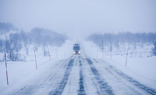 Rekat ovat luistelleet talvisin erityisesti valtatie 21:llä Länsi-Lapissa.
