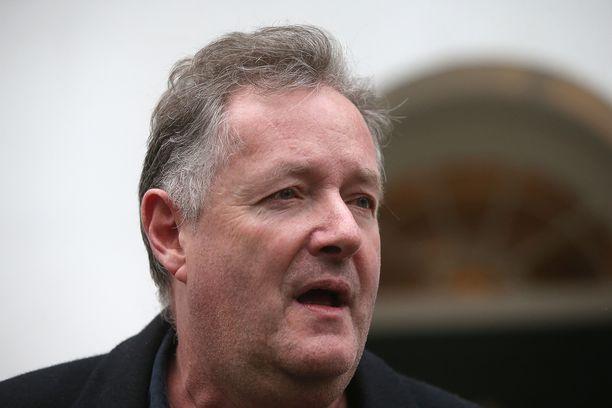 Piers Morgan ei vedä sanojaan takaisin.