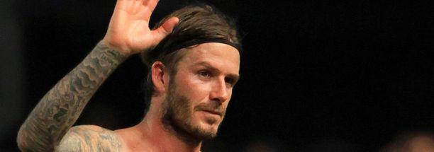 Perhe on David Beckhamille tärkeä.