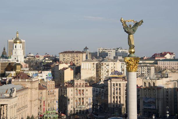 KGB piti rautaisessa otteessaan myös Ukrainaa. Kuva maan pääkaupungista Kiovasta.