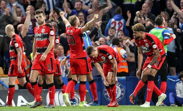 Tasapeli oli Huddersfieldille riemukas tulos.