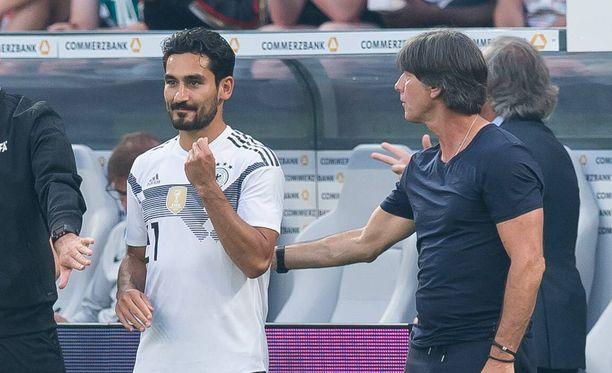 Ilkay Gündogan sai tukea päävalmentaja Joachim Löwiltä.