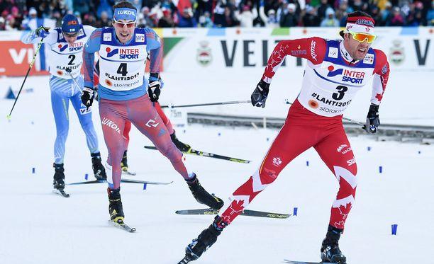 Alex Harvey jätti Sergei Ustjugovin ja Matti Heikkisen taakseen kultakirissä.