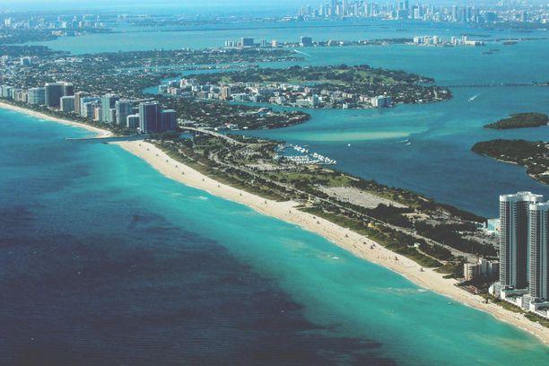 Miamin maisemat ovat ihanan merelliset.