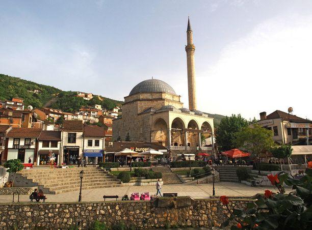 Turkkilaisajat näkyvät Prizrenissä.