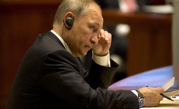 Putinin mukaan pelkät pakotteet ovat hyödyttömiä.