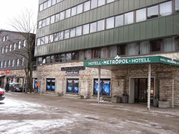 Miestä ammuttiin jalkaan Hotelli Metropolissa Tallinnassa.