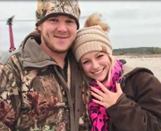 Will ja Bailee menivät naimisiin Willin perheen maatilalla Texasissa.