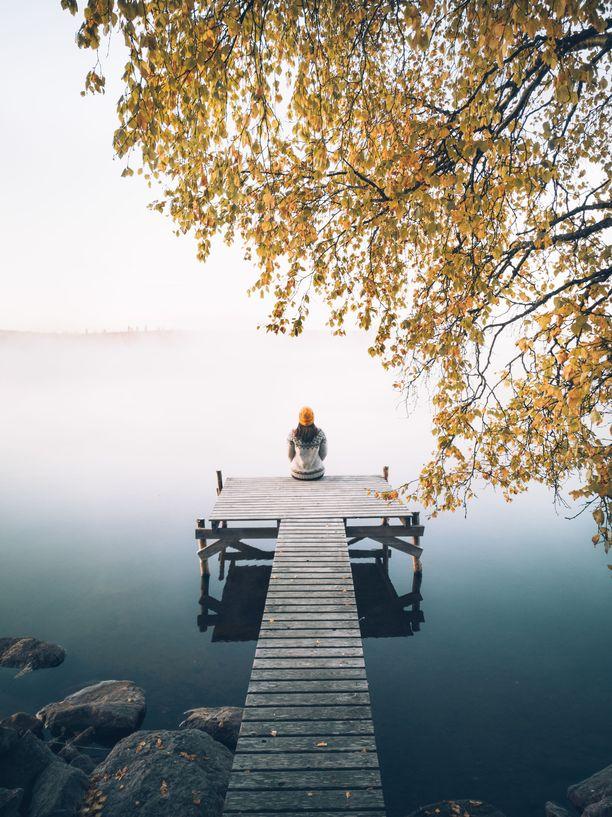 Kuusamossa riittää kauniita paikkoja. Yksi niistä on tämä järvi, Suininki.