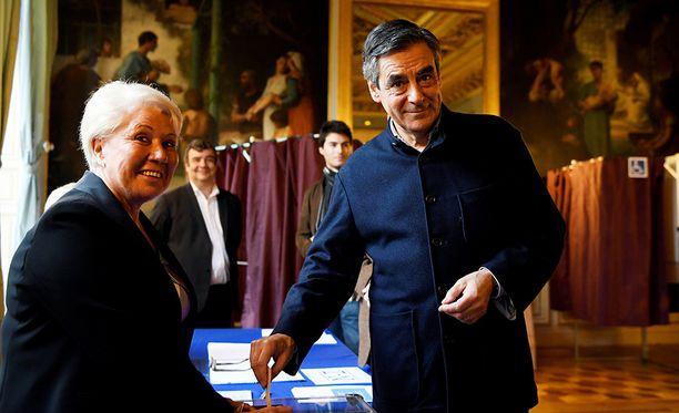 Filloin itse äänesti sunnuntaina Pariisissa.