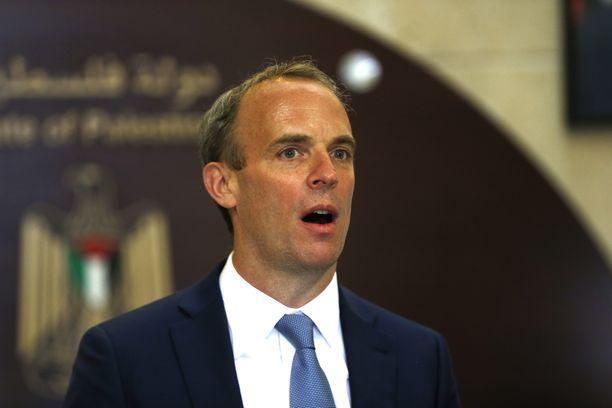 Ison-Britannian ulkoministeri Dominic Raab.