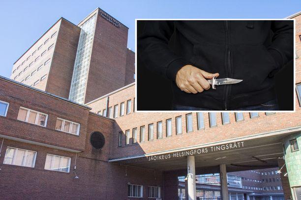 Kaksi miestä tuomittiin törkeistä rikoksista Helsingin käräjäoikeudessa.