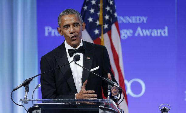 Barack Obama painottaa sairausvakuutuksen merkitystä kaikille amerikkalaisille.