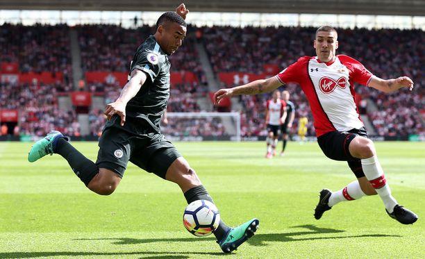 Gabriel Jesus viimeisteli Manchester Cityn ennätysmäisen kauden.