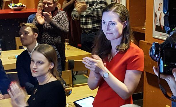 Tamperelainen Sanna Marin sai vaaleissa 19 087 ääntä Pirkanmaan vaalipiiristä, enemmän kuin kukaan toinen demari koko maassa.