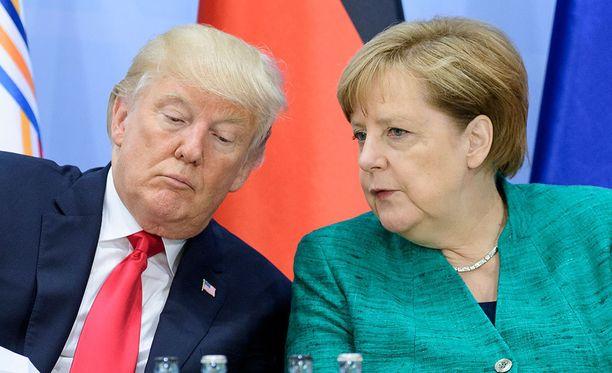 Saksan liittokansleri Angela Merkel keskusteli maanantaina puhelimitse Donald Trumpin kanssa Pohjois-Korean tilanteesta.