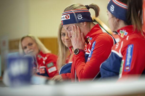 Kysymys Ida Eidestä oli Astrid Jacobsenille liikaa.