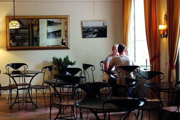 Turkulaisen taidekahvilan kahviosaaminen on saanut palkintoja.