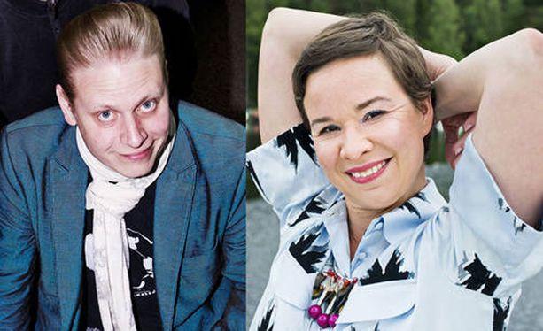 Tuomas Muraja ja Rosa Meriläinen ovat tuore aviopari.