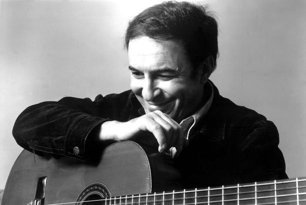 Brasilialainen bossa novan isä João Gilberto 1970-luvulla.