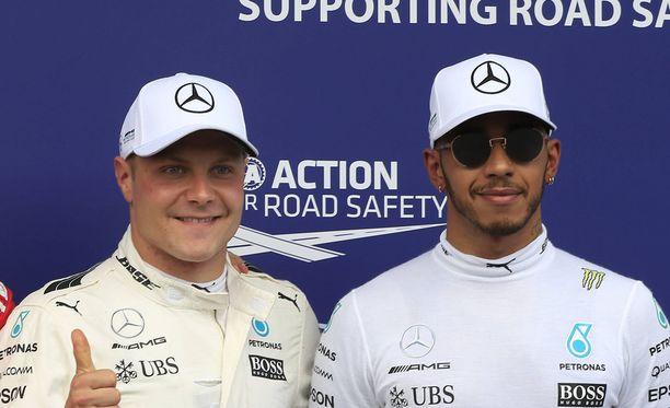 Valtteri Bottaksen ja Lewis Hamiltonin välille saattaa syntyä mediapeliä, jos Bottas kirii kaksikon piste-eroa umpeen.