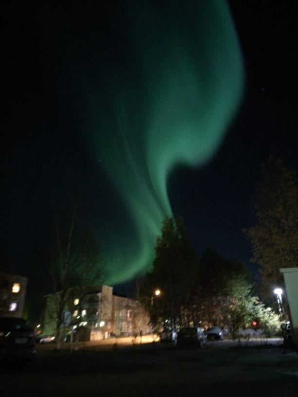 Ja tältä Rovaniemellä.