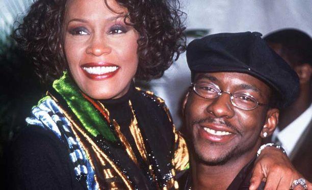 Meillä klikkasi välittömästi, kertoi Whitney Houston kohtaamisestaan Bobby Brownin kanssa.