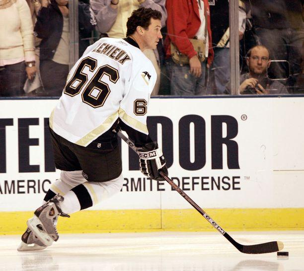 Mario Lemieux on yksi NHL:n suurimmista legendoista.