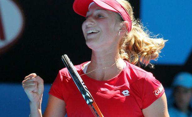 Jekaterina Makarova pelaa huipputasolla.