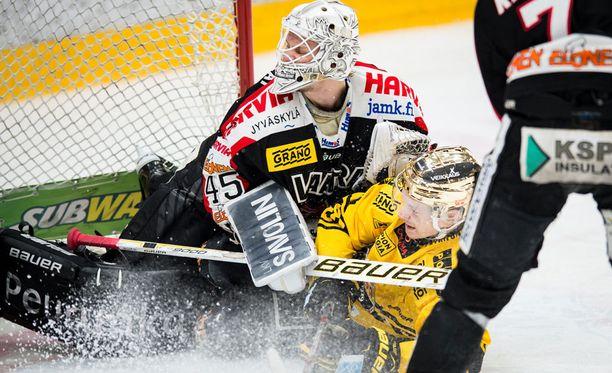 Jussi Olkinuora ja JYP putosivat finaaleista viimeisessä mahdollisessa paikassa.