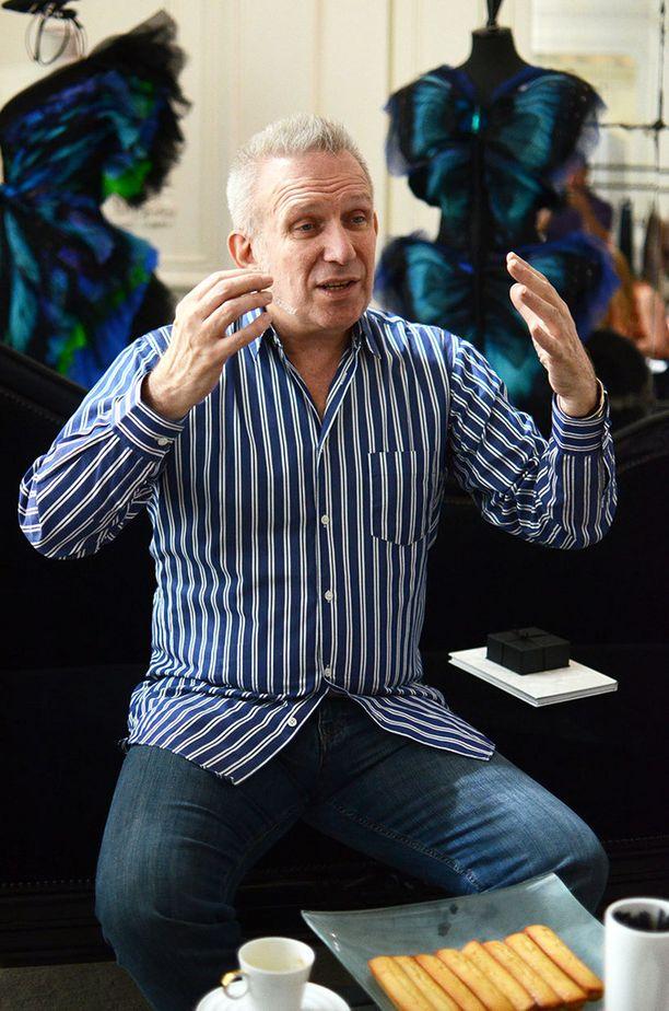 Gaultier suunnitteli yhteistyömalliston ruotsalaisketju Lindexin kanssa.