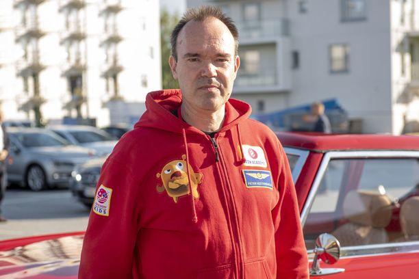Peter Westerbacka tuli tunnetuksi Angry Birds -mobiilipelin myötä.
