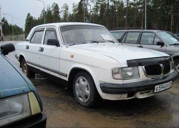 Vuosimallin 1998 Volga päätyi vanhoilla päivillään Raja-Jooseppiin.