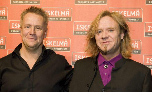 Olli Lindholm ja Jussi Hakulinen tunsivat toisensa 80-luvulta lähtien.