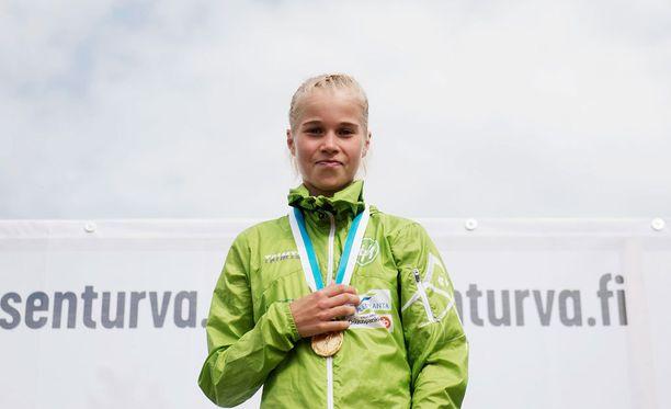Alisa Vainion maratonaika olisi riittänyt kelpo sijoitukseen Lontoon olympialaisissa.