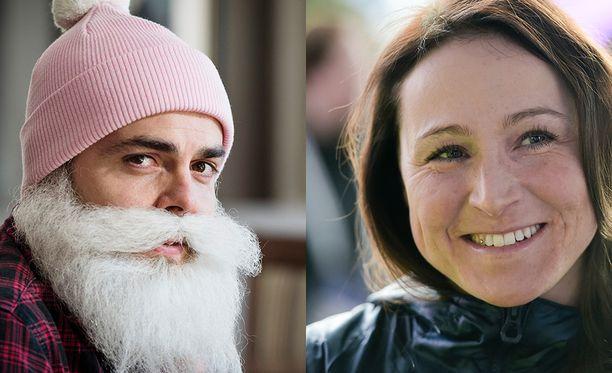 Brother Christmas eli Ari Koponen sekä Aino-Kaisa Saarinen saapuvat tänään Susanne Päivärinnan vieraiksi.