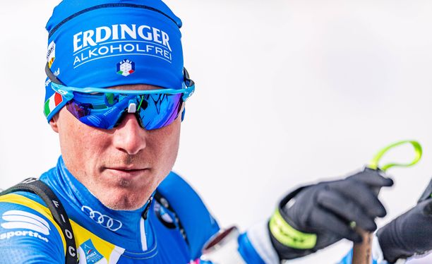 Lukas Hofer, 30, on voittanut urallaan yhteensä kuusi ampumahiihdon arvokisamitalia.