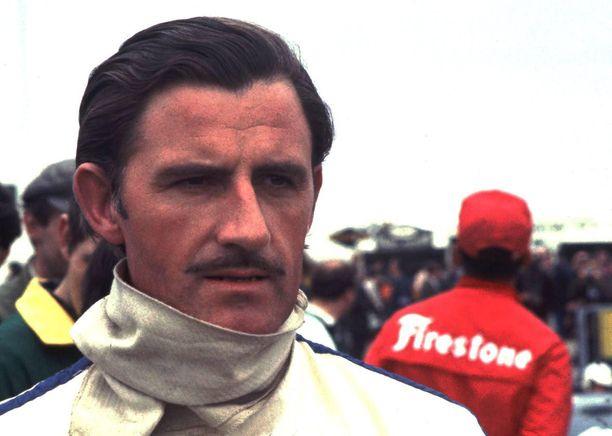 Graham Hill oli aikansa ikoninen kilpa-ajaja.