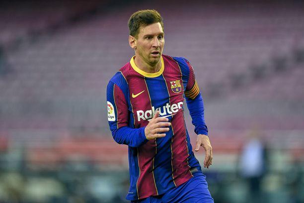 Lionel Messi jatkaa Barcelonan paidassa.