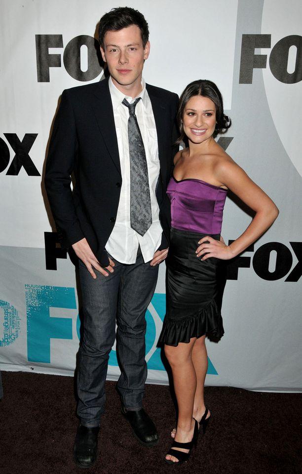 Glee-sarjan kuvauksissa tavannut pari ehti seurustella 1,5 vuotta.