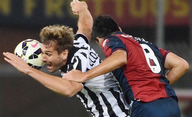 Fernando Llorente ja Juventus menettivät tappion myötä Serie A:n piikkipaikan.